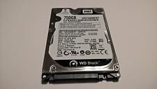 Western Digital Scorpio Black 750GB,Intern,7200RPM