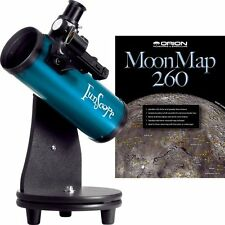 NEW Orion 10033 76mm TableTop Reflector Telescope Moon Kit Blue FREE SHIPPING