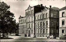 Reutlingen alte s/w Postkarte ~1950/60 gelaufen Technikum für Textil Industrie