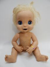 2006 Baby Alive Blonde Soft Face Doll for Parts Repair Project - Not Working