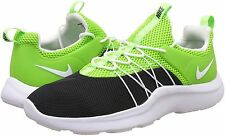 MEN'S NIKE DARWIN SHOES SIZE 14 black white electric green 819803 013