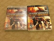 New Sealed Transformers: Fall of Cybertron (Sony PlayStation 3, 2012)