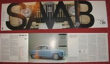 N°4176 / catalogue SAAB berline et break 850    1967