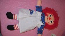 """12"""" Raggedy Ann Doll 1996 Hasbro Johnny Gruelle  dressed"""