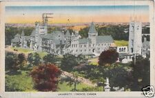 Postcard: University of Toronto (Valentine Black Co.) to Moncton, N.B. 1942