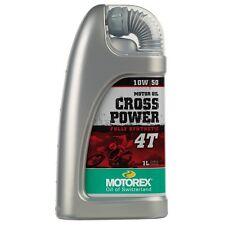 Motorex Cross Power 4 tiempos 10W/50 Completo Sintetizador aceite 1 litros Suzuki RMZ250 H. 250