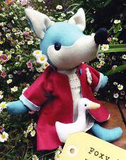 PATTERN - Foxy & Waddles - cute fox & duck softie/toy PATTERN