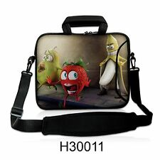"17"" LAPTOP SLEEVE WITH HANDLE & SHOULDER STRAP 4 ALL LAPTOPS, *BANANA* FREE POST"