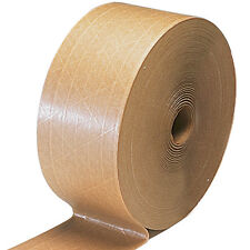 GUMMED TAPE*REINFORCED*10 ROLLS*450 FT 35.00 A CASE ! WE DO CUSTOM LOGO'S PATCO