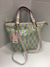 NEW Juicy Couture Candy Sequin Messenger Handbag Pastel Colors Hjc61to42