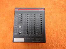 ABB DC551-CS31 S500 Bus Module 8DI/16DC DI:24VDC DC:24VDC/0.5A 1-wire *Warranty*
