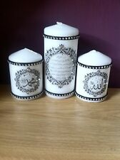 Islamic Wedding / Henna /home Decor/ Birthday /personalised /gift Candle Set
