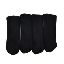 4Pcs Chair Table Leg Knitting Wool Furniture Cover Sleeve Sock Floor Protector