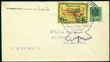 CANADA, CL43, 1928 (10¢) PATRICIA AIRWAYS LTD TIED ON FLIGHT COVER TO RED LAKE