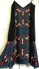 "BNWT DIESEL Black Gold Stunning ""Duke A "" Dress, Size 40 (UK 12) RRP £400+, New!"