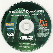 ASUS M3A32-MVP DELUXE W WIFI Motherboard Drivers Installation Disk M1320