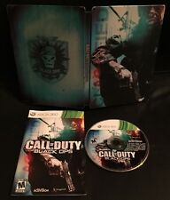 XBOX 360 ONE ✔ CALL OF DUTY BLACK OPS 1 HARDENED LIMITED EDITION STEEL ✔V. NICE