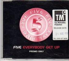 (BW359) Five, Everybody Get Up - 1998 DJ CD