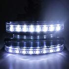 12V DC Car Daytime Running Light 8 LED DRL Daylight Head Lamp Super White 2Pcs