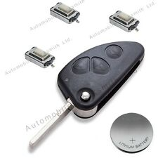 DIY repair KIT for Alfa Romeo 147 156 166 GT 3 button remote flip key
