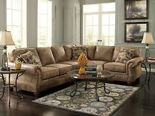 VALENTINE-TRADITIONAL MICROFIBER SOFA COUCH SECTIONAL SET LIVING ROOM FURNITURE