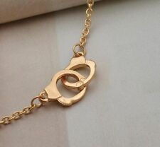 Gold Handcuff necklace partners in crime