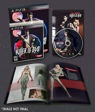 Killer Is Dead: Limited Edition w/ ArtBook & Music CD [PlayStation 3 PS3] NEW