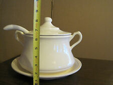 4 PIECE CAL ORIG SOUP TUREEN
