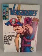 COMIC LOS VENGADORES ¡ALGUIEN LO VA A PAGAR MUY CARO! Nº36 ED.MARVEL FORUM 1983