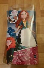 New - Disney Princess Merida's (Brave) Magical Story Skirt Doll & Water Wand