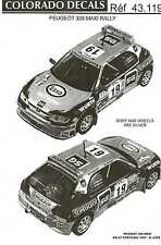 Colorado Decals 1/43 PEUGEOT 306 MAXI RALLY Part 2