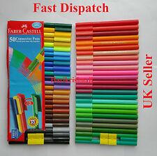 Multi Colour Felt Tip Pens Shades 50 Faber-Castell Colouring Books Long Last Ink