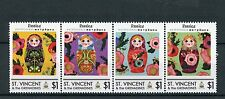 St Vincent & The Grenadines 2014 MNH Rossica Matryoshkas 4v Strp Mathruska Dolls