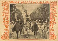 COMPIEGNE LES FETES DE JEANNE D' ARC IMAGE 1913