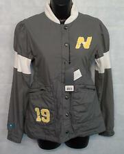 New Balance WAJ1107 Womens Varsity Jacket Top Size Small Brand New ASPHALT #1169