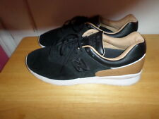 MUST SEE FABULOUS NWOT NEW BALANCE 1500 MD1500DG BLACK TAN MEN SZ 13 D