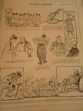 Thanh Thai empereur d'Annam Disparition Iris du Louvre Print Art Déco 1906