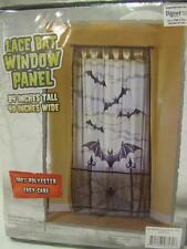 Lace Bat Window Panel ~ Door Decoration ~ Halloween Decorations ~ Black Lace