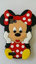 Funda para móvil S MINNIE RED SILICONA para BQ AQUARIUS E4