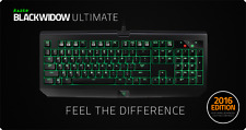 Razer Black Widow Ultimate 2016 Edition Gaming Keyboard Mechanical In Box