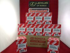 OEM GENUINE TOYOTA OIL FILTER 04152-YZZA1 BOX OF 10 FITS TOYOTA AND LEXUS