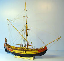 Scale 1/48 Laser-cut Wooden sailboat Model kit: The Marmara Trade ship model