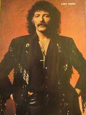 Tony Iommi, Black Sabbath, Bang Tango, Double Full Page Pinup