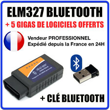 Interface Diagnostique Multimarques ELM327 + CLÉ BLUETOOTH / ELM 327 / Android