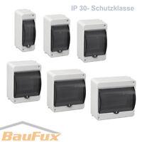 Kleinverteiler IP30 AP Aufputz Unterverteilung Sicherungskasten Verteilerkasten