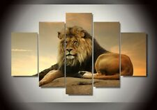 Modern Abstract Oil Painting Wall Decor Art Huge - Mighty Lion King 2