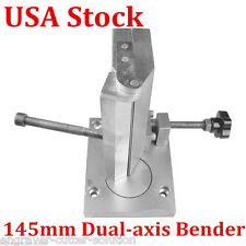 USA STOCK! 145mm Dual-axis Metal 3D Channel Letter Angle Bending Machine Bender