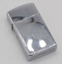 Vintage Zippo Slim Engraved Cigarette Lighter 1994