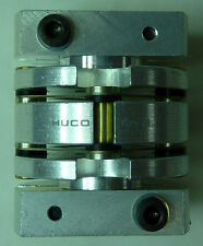 HUCO FLEX M COUPLING FLEX JOINT UNION CLAMP 8MM X 10MM SHAFT FLEXIBLE