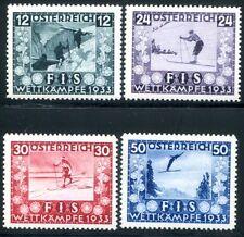 ÖSTERREICH 1933 551-554 ** POSTFRISCH TADELLOS ATTEST BPP 650€(Z8149